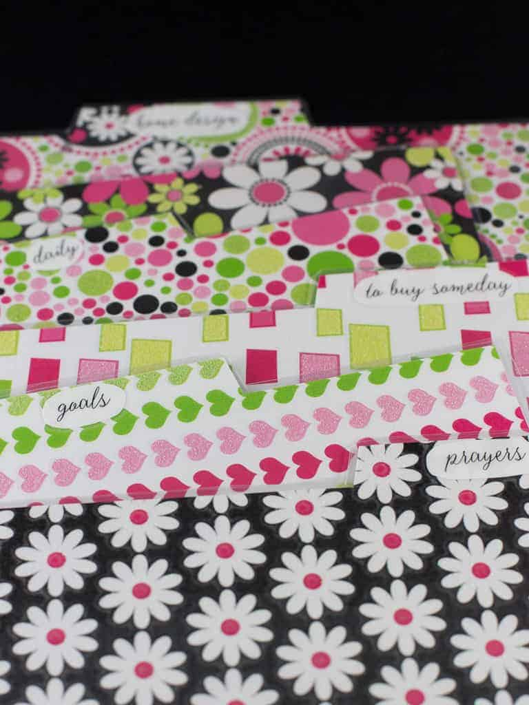 Free Planner Dividers and Tabs | Intentional Hospitality