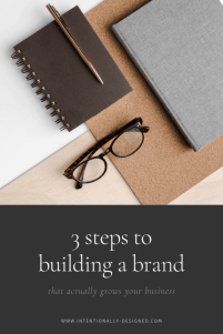 3 step branding process