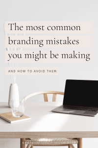 Most common branding mistakes