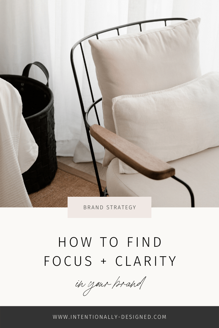 How to find focus and clarity in your brand
