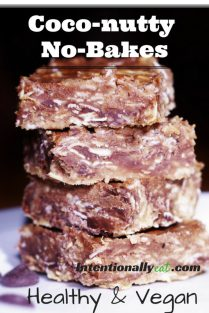 coco-nutty no bake cookies