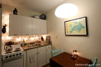Lighting a Small Space | Intentionally Small