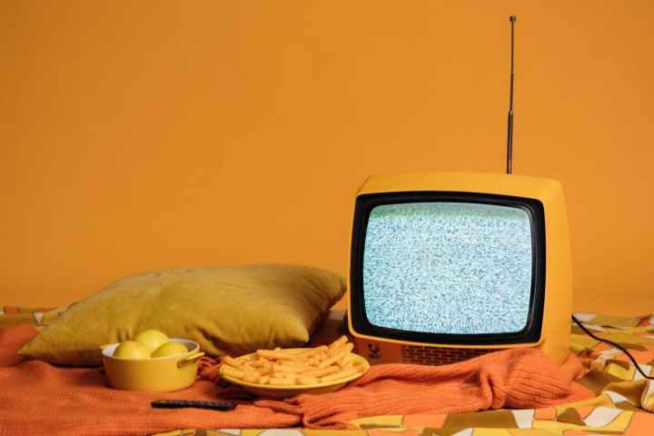 retro television tv stylish