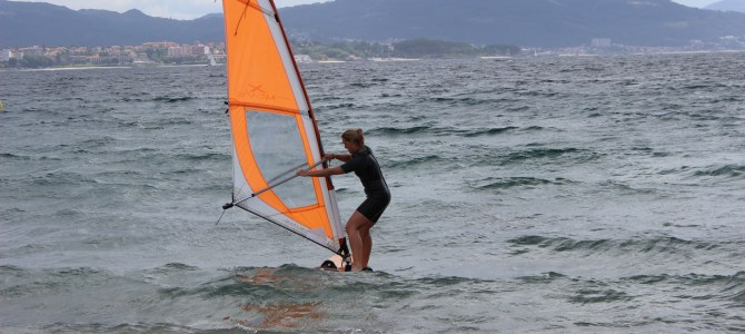 More relaxing and windsurfing