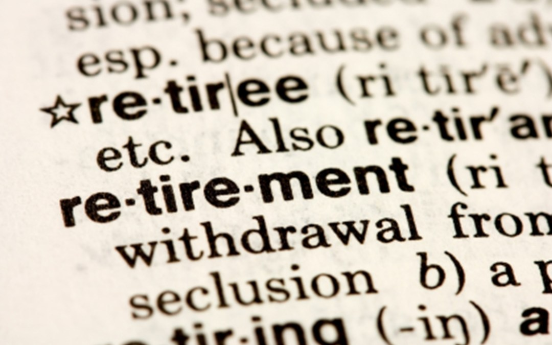 How do you define retirement?