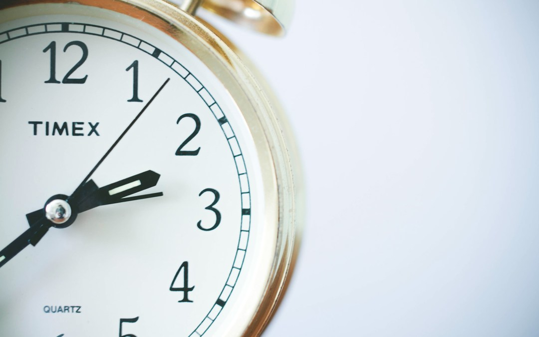How (and why) to make a time budget for 2012