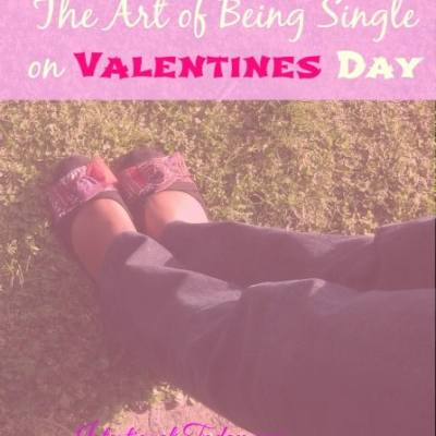 The Art Of Being Single On Valentines Day