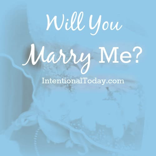 Will you still marry me?