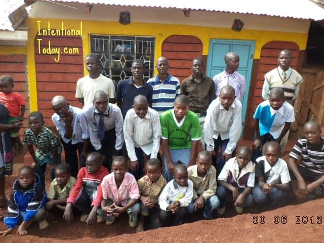 Image: Keumbu Kitchen Project Update- Boys