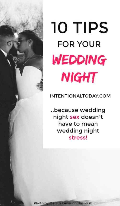 10 things every bride should know before her wedding night - because wedding night sex doesn't have to mean wedding night stress!