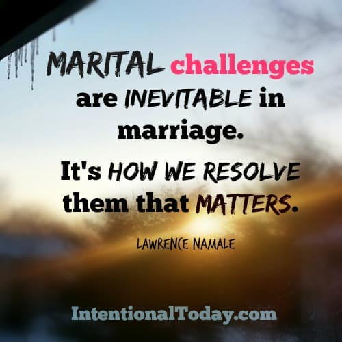 6 Steps to resolving conflict in marriage