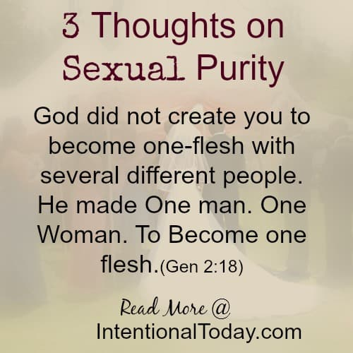Sexual Purity Before Marriage