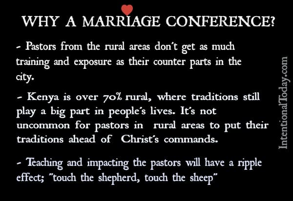 Marriage conference kenya 2015