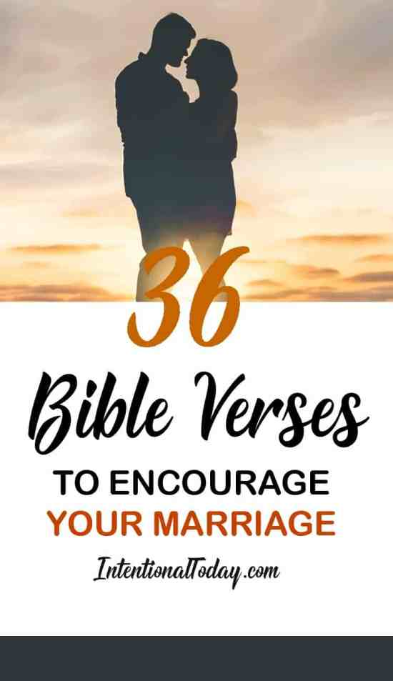 36 bIBLE VERSES TO ENCOURAGE YOUR MARRIAGE