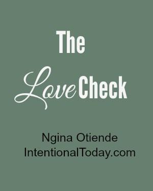 The Love check