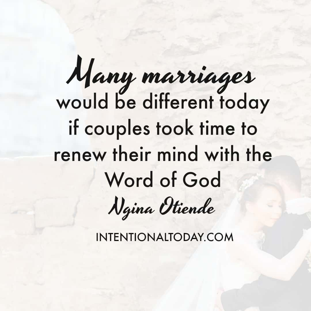 Bible quotes on marriage problems