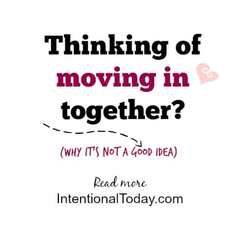 Thinking of moving in together