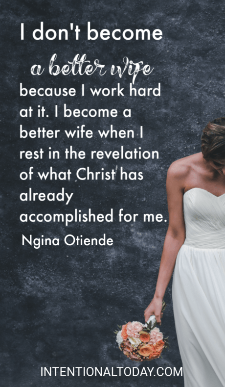 understanding my identity in christ as a wife and becoming a better wife