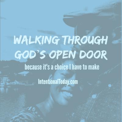 Walking Through God's Open Door