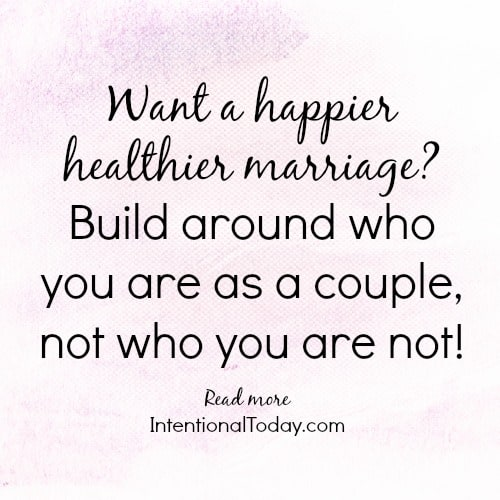 4 reasons to create a happy healthy normal for your marriage
