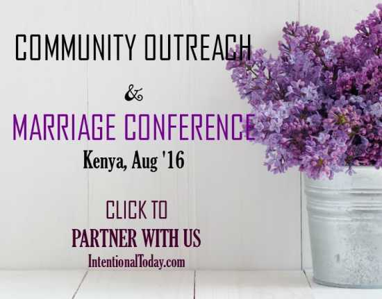 Marriage and outreach partnership