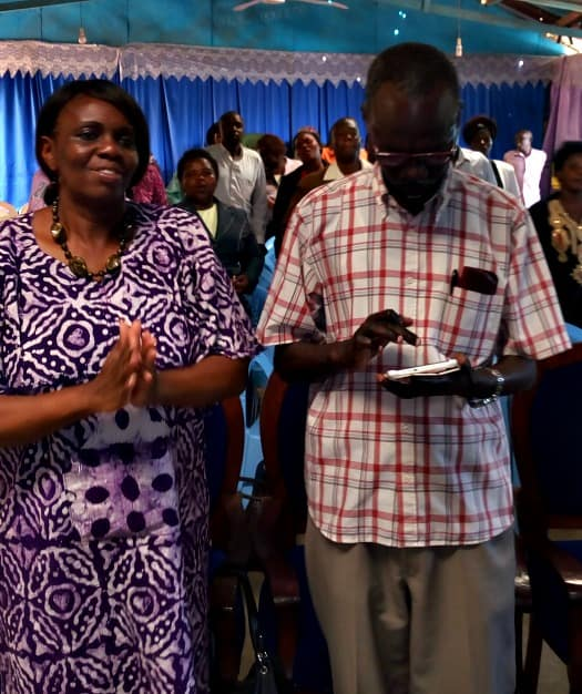 Marriage coaches, Pastor Barnabas and Grace