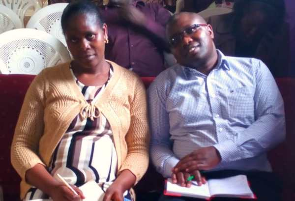 Pastor Fred and his wife