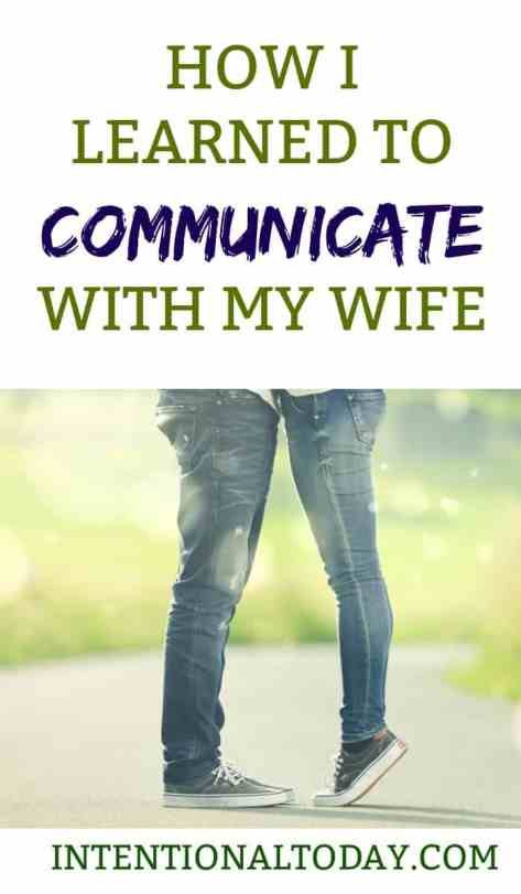 Communication in marriage a husband's perspective
