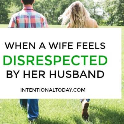 My Husband Doesn't Respect Me – 5 Things To Do