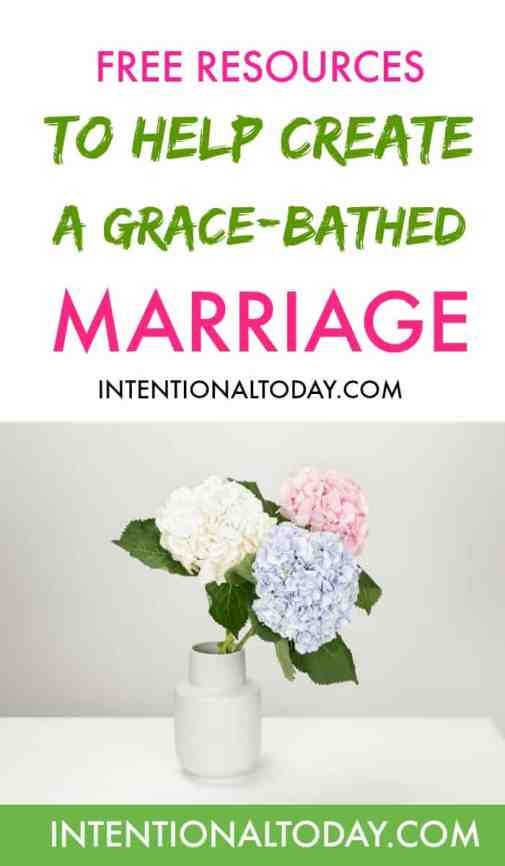 Free recources, articles, websites, support groups to help you create a grace-bathed marriage