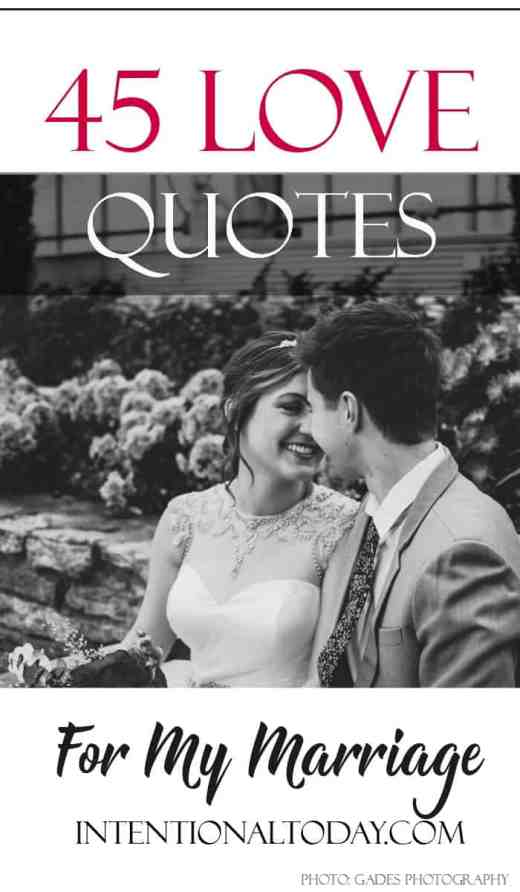 45 love quotes to inspire your marriage