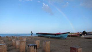 fishermen's beach rainbow