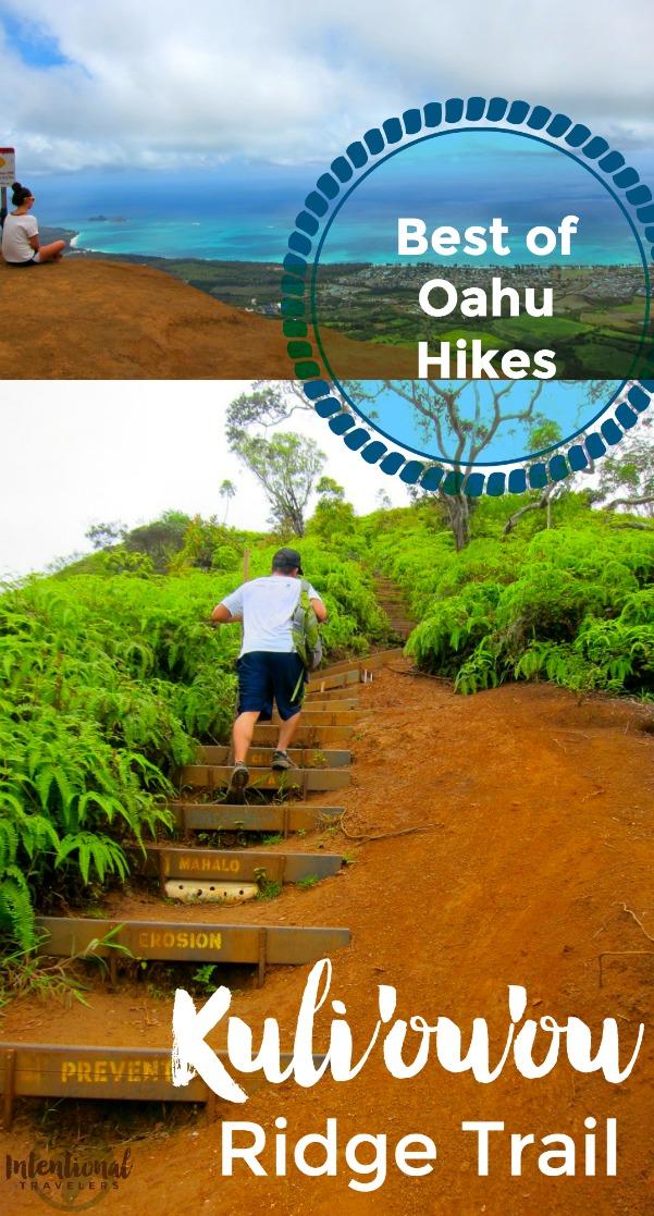 Beautiful views, rewarding intermediate hike on Oahu, Hawaii