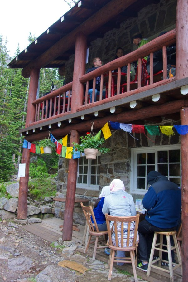 Plain of 6 Glaciers tea house, Lake Louise | Intentional Travelers