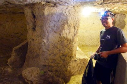 Underground tunnel, Help Exchange, France | Intentional Travelers