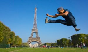 Eiffel Tower - Paris, France Jumping Jedd | Intentional Travlers