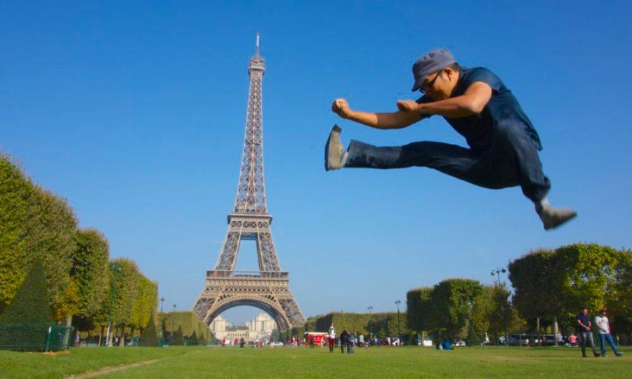 Eiffel Tower - Paris, France Jumping Jedd   Intentional Travlers