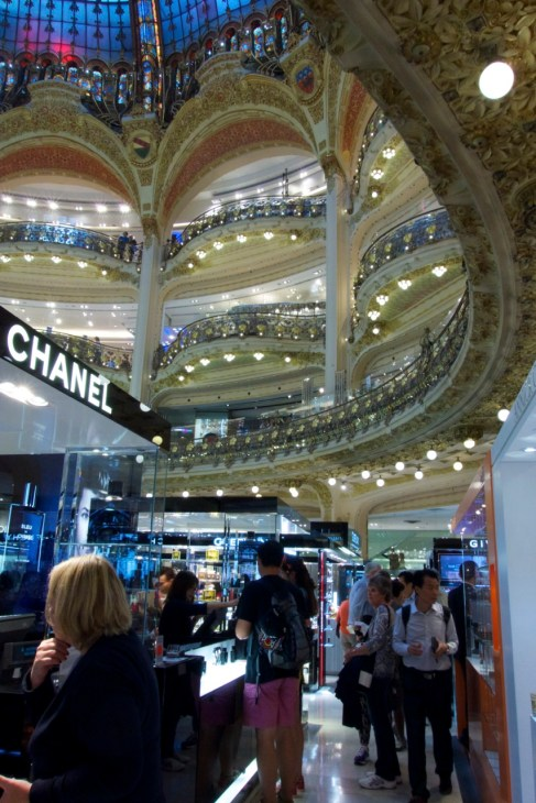 Galeries Lafayette | A Budget Itinerary for Paris, France | Intentional Travelers