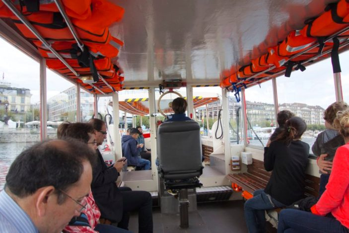 Mouette taxi boat, Tips for Visiting Geneva, Switzerland | Intentional Travelers