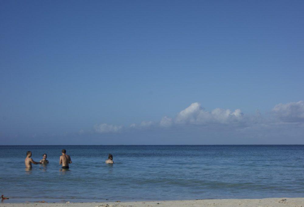 Post-run Beach | Reggae Marathon, Half-Marathon & 10k in Negril, Jamaica | Intentional Travelers