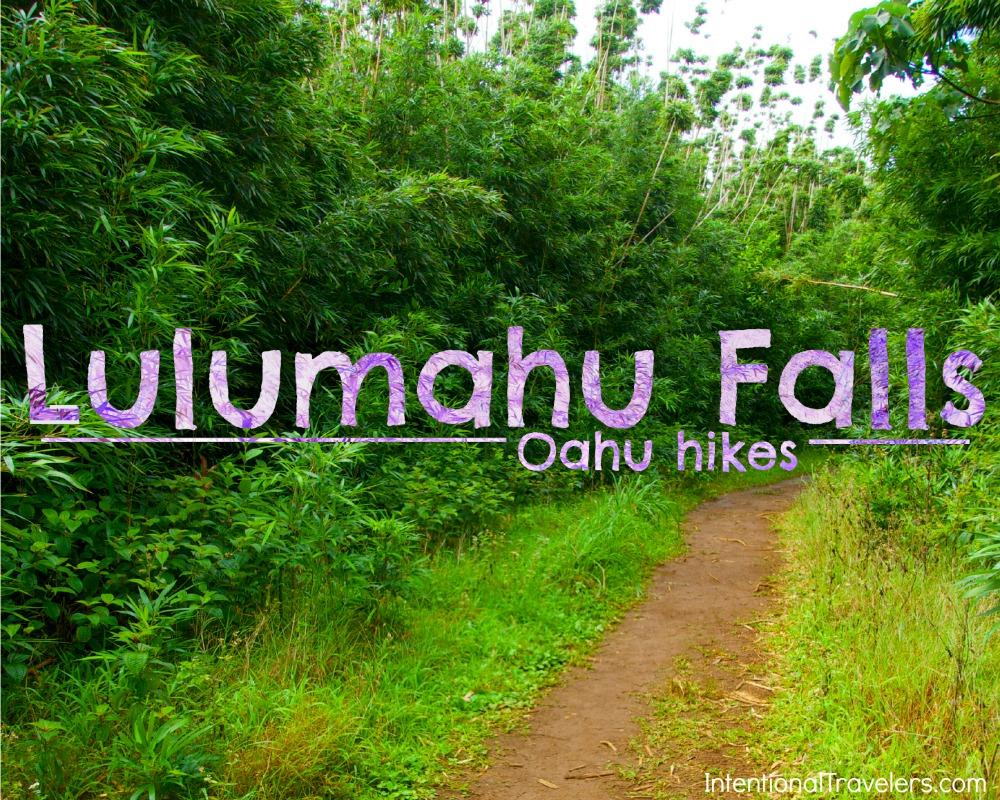 Lulumahu Falls hike - Oahu