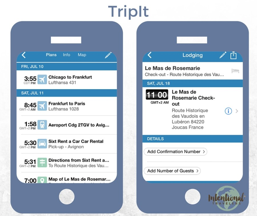 TripIt | Our Favorite Apps for Better Travel | Intentional Travelers