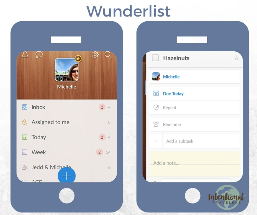 Wunderlist | Our Favorite Apps for Better Travel | Intentional Travelers