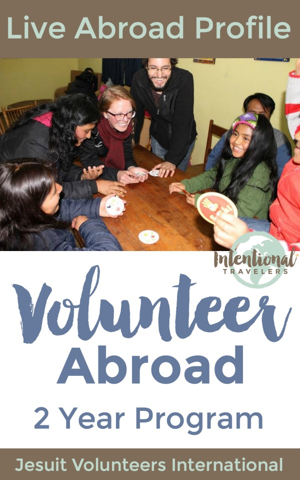 Profile of a two-year volunteer doing meaningful work abroad with JVC International in Peru