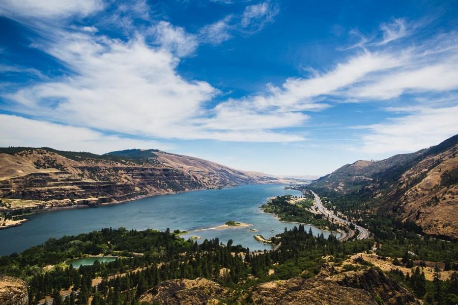 Columbia River Gorge | A Photographer's Tour of Portland | Kapono Photoworks via Intentional Travelers