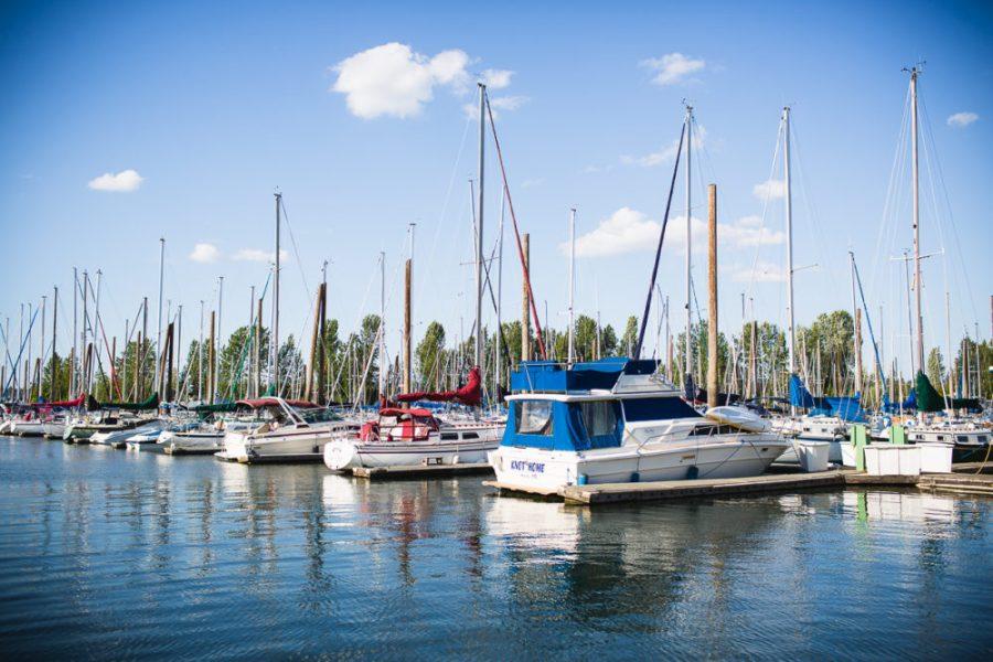 Tomahawk Island marina | A Photographer's Tour of Portland | Kapono Photoworks via Intentional Travelers