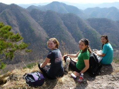 Hiking, Mudeungsan