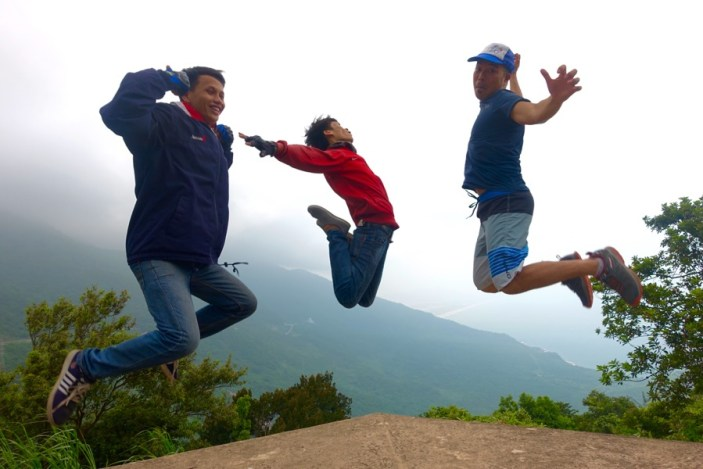 #JumpingJedd with our guides