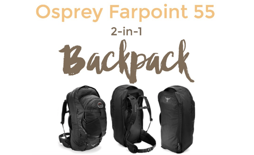 Travel Gear Review: Osprey Farpoint 55 Travel Backpack - Intentional Travelers