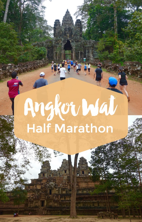 Bucket list! Race review and tips for Angkor Wat Half Marathon and 10k in Siem Reap, Cambodia | Intentional Travelers